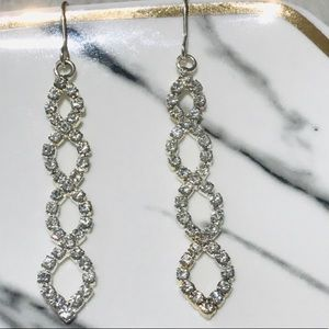 Charter Club Crystal Drop Earrings